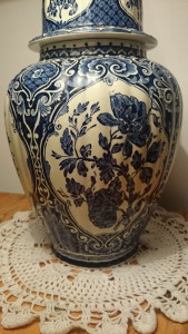 Antique Villeroy and Boch Vase