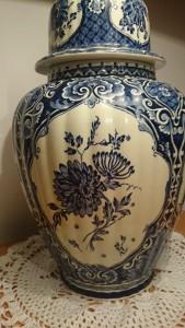 Antique Villeroy and Boch Vase