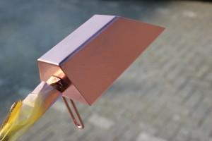 Copper spray lamp