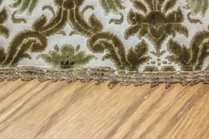 vintage rug - detail