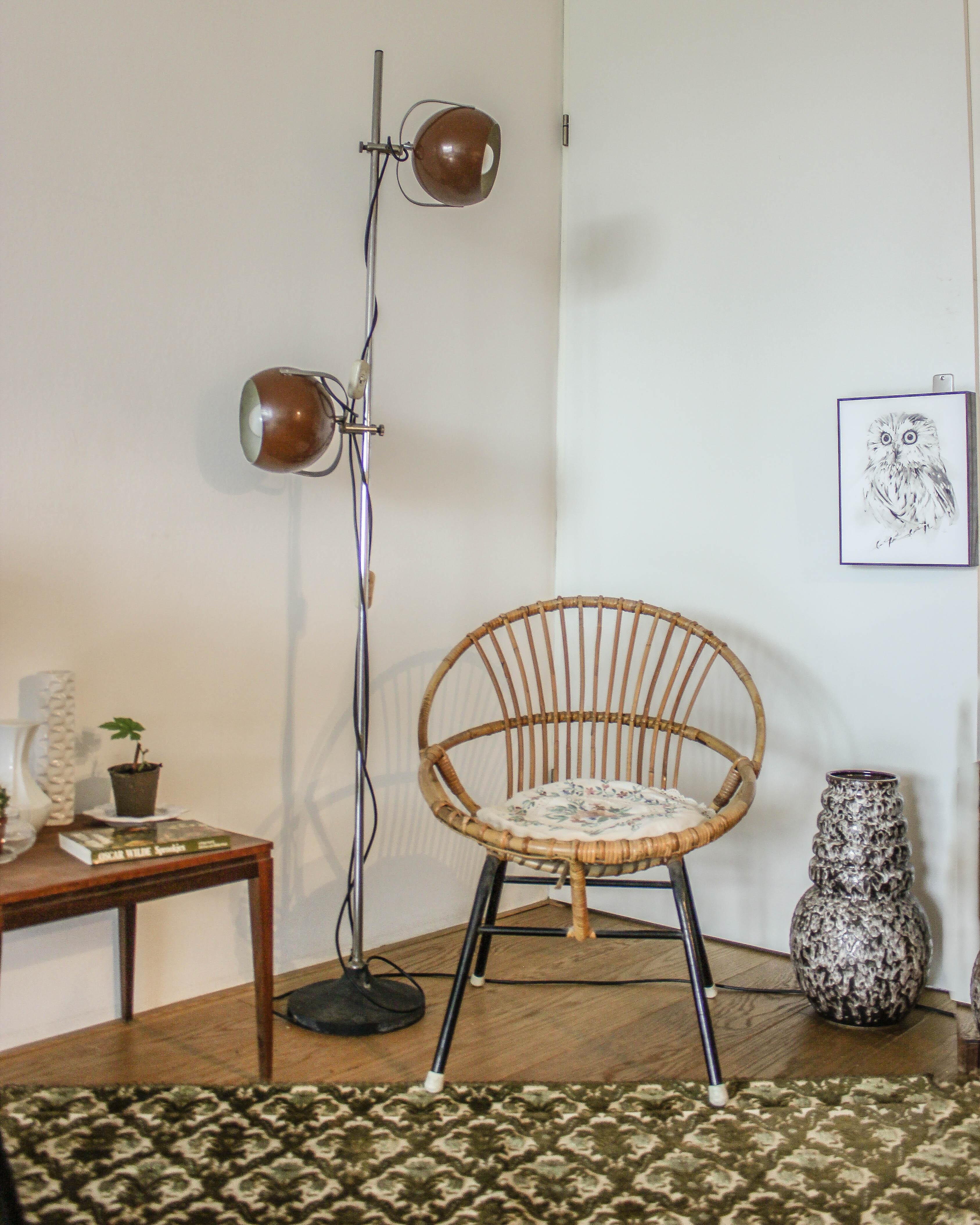 Vintage floorlamp