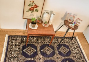 Vintage Persian Rug - Handmade