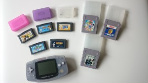 Nintendo Gameboy console and games