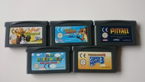 Nintendo Gameboy Advanced games